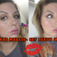 Coffe and makeup- get ready with me.