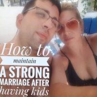 How to maintain a strong marriage after having kids
