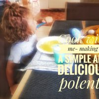 Cook with me- making a simple and delicious polenta