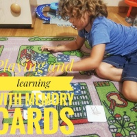 Playing and learning with memory cards