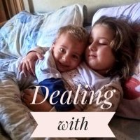 Mom talk-Dealing with a sibling rivalry