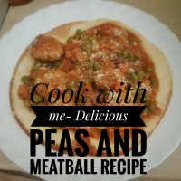 Cook with me- Delicious Peas and Meatball Recipe