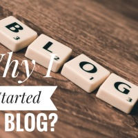 Why I started my blog?